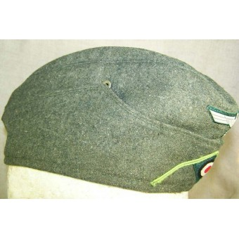 M38, enlisted men, Heeres Panzergreanadiere, or motorized infantry hat. Espenlaub militaria