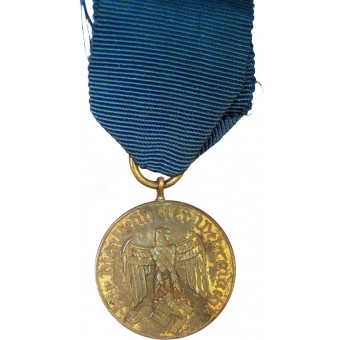 Medal for 12 years of service in Wehrmacht or Luftwaffe. Espenlaub militaria