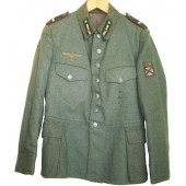 ROA  tunic, Dutch retailored tunic for the Wehrmacht.