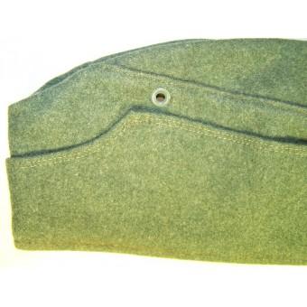 SS VT Feldgrau EM M34 overseas cap. Espenlaub militaria