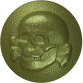 SS VT Skull button cockade vor M 34 or an early M 40 side caps