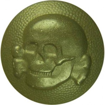 SS VT Skull button cockade vor M 34 or an early M 40 side caps. Espenlaub militaria
