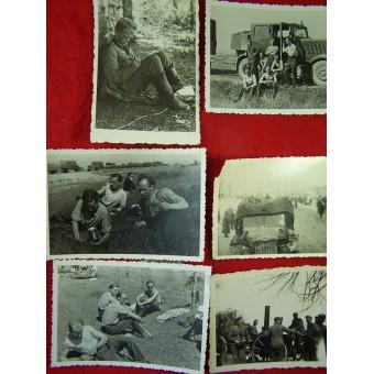 117 pictures, Einsatz in France- Russia. Espenlaub militaria
