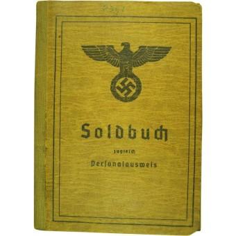3 Reich Soldbuch. Espenlaub militaria