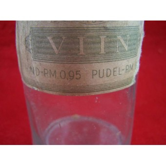 Bottle of vodka ww2 period made in occupied Estonia.. Espenlaub militaria
