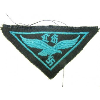 Luftwaffe helper breast eagle with gothic letters LH. Espenlaub militaria