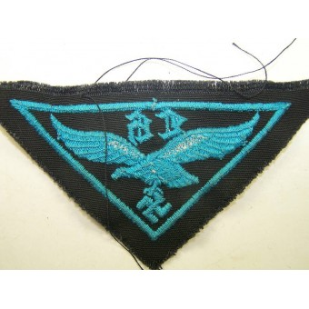 Luftwaffe helper breast eagle with gothic letters LH. Espenlaub militaria