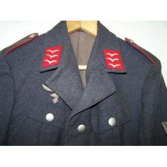 Pre WW2 issue of a Luftwaffe Geschoente Tuchrock for the driver in FLAK Abteilung in rank of Obergefreiter. Espenlaub militaria
