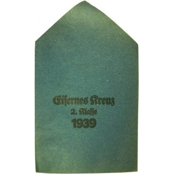 Unissued pack for Iron cross II class by Carl forster und Graf.. Espenlaub militaria