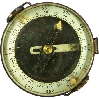 Soviet WW2 made compass. Marked. Espenlaub militaria