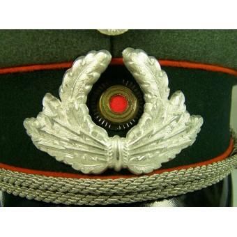 3rd Reich Postschutz visor hat. Rare!!. Espenlaub militaria