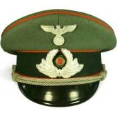 3rd Reich Postschutz visor hat. Rare!!