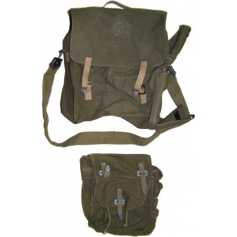 Heeres or Waffen SS Pioniersturmgepaeck. Assault Engineers backpack and pouch. Espenlaub militaria