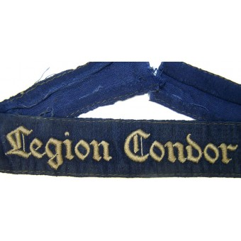 Legion Condor cufftitle. Espenlaub militaria