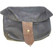 Original WW2 SVT leather ammo pouch.