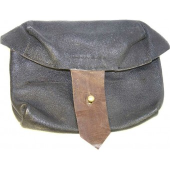 Original WW2 SVT leather ammo pouch.. Espenlaub militaria