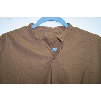 Early Brown NSDAP or SS-VT troops undershirt. Espenlaub militaria