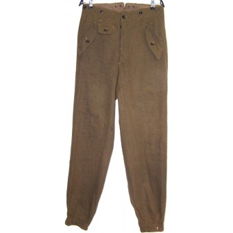 RAD Gebirgsjager type trousers for mountain RAD troops. Espenlaub militaria
