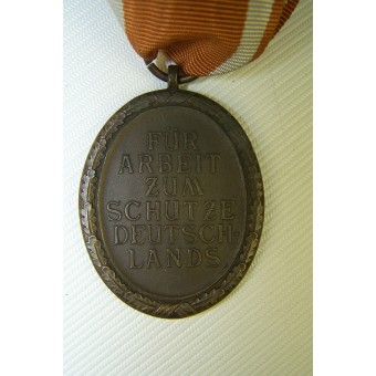 Westwall medal with original ribbon. Espenlaub militaria