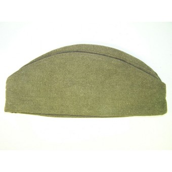 Wool sidecap pilotka with red star. Espenlaub militaria