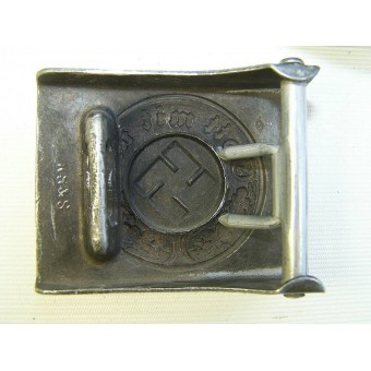 Combat police belt and buckle.. Espenlaub militaria