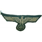 Early officer or nco woven type breast eagle