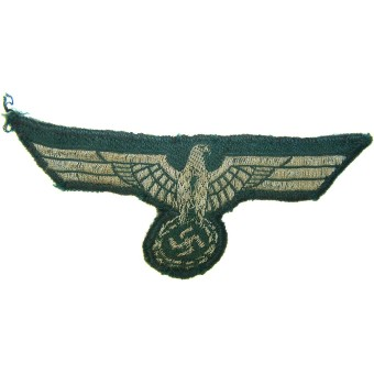 Early officer or nco woven type breast eagle. Espenlaub militaria