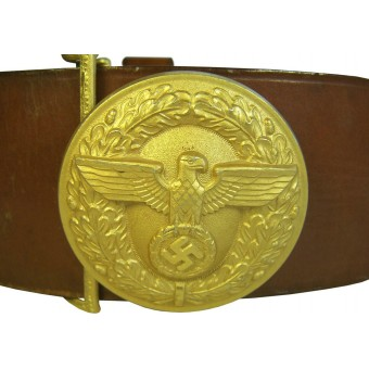 NSDAP Leiter/ leaders belt and buckle. Espenlaub militaria