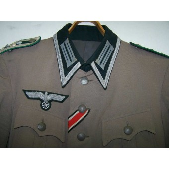 Oberfelwebel - Gebirsjager regiment 99 private purchased tunic.. Espenlaub militaria