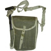 Maxim 1910 machinegun, kit and spare parts canvas pouch
