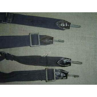 Unissued original WW2 German slings for bread bag. Espenlaub militaria