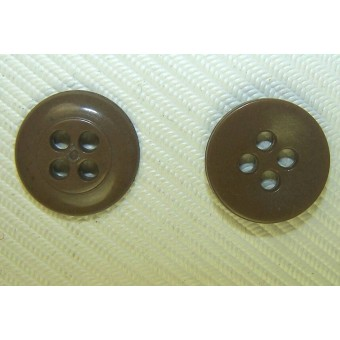 14 mm Sandbrown color buttons. Espenlaub militaria