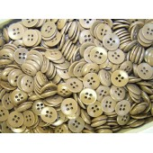 14 mm Sandbrown color buttons
