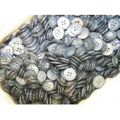 Standard issue 3rd Reich, 14 mm Army feldgrau bone buttons