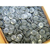 Standard issue 3rd Reich, Army feldgrau buttons, 14 mm