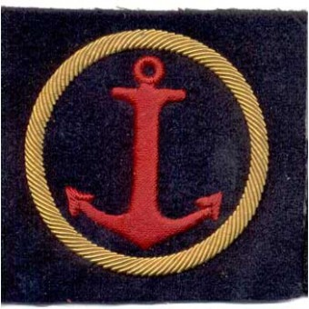 M43 NAVY arm patch supply service personnel. Espenlaub militaria