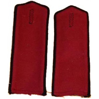 Red Army / Soviet Russian Everyday sewn-in shoulder boards. Espenlaub militaria