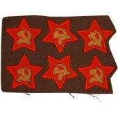 Red Army / Soviet Russian Politruk(Comissar) sleeve stars