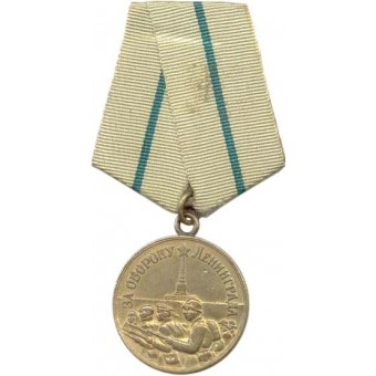 Medal for the Defense of Leningrad. Espenlaub militaria