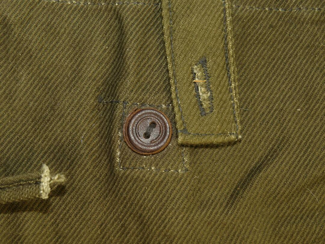 1615060a8 ... Olive green canvas canteen cover, 1945.. Espenlaub militaria. Mouse  over to Zoom - Click to enlarge